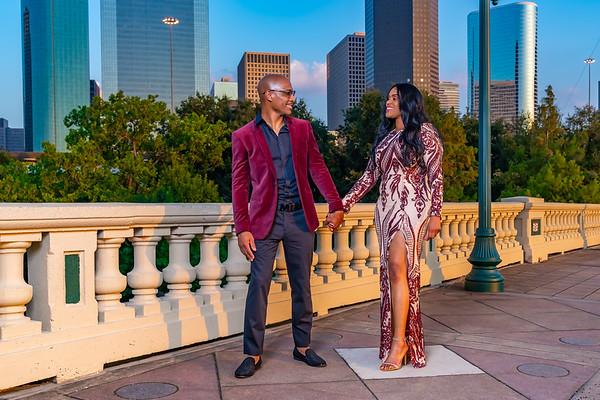 Sharita's and Kendrick Engagement Photos