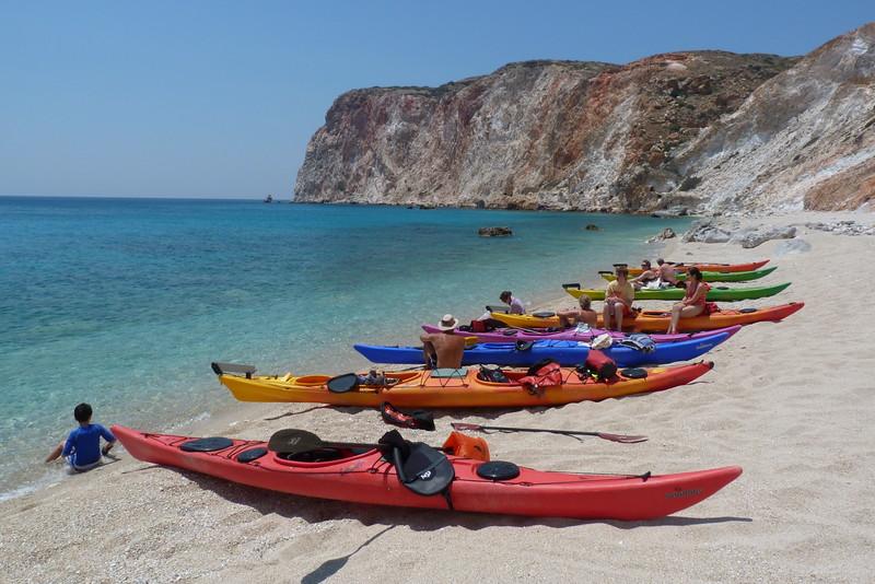Firlingos East beach, Milos