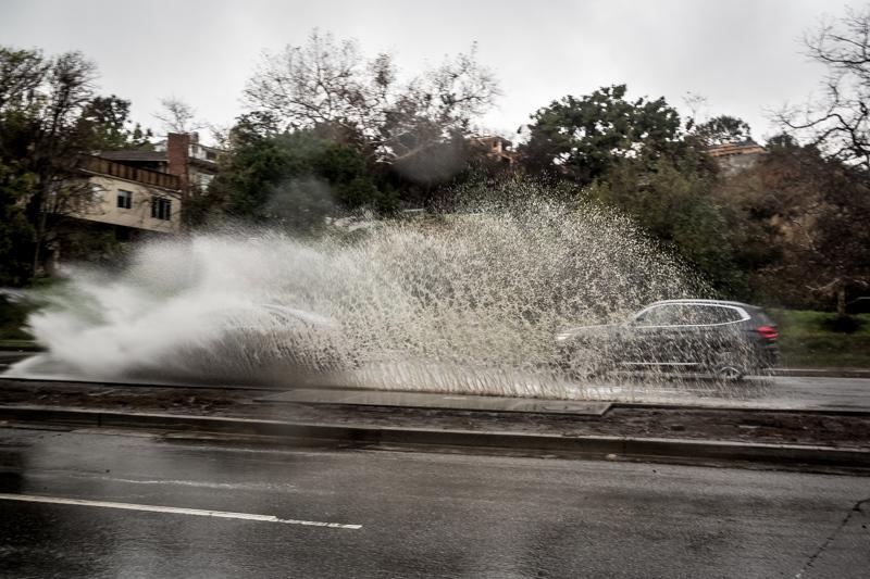 February 9 - Rainstorm in Los Angeles.jpg