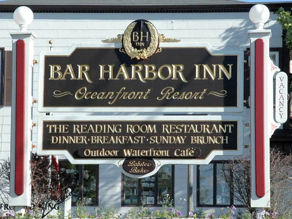 Signs of Bar Harbor