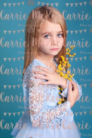 Ella model portraits