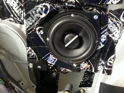 2003 Toyota Celica GT Rear Side Panel Speaker Installation - USA