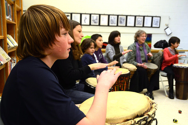 Drum Circle with Otha Day-021914