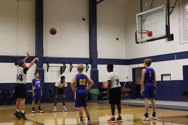 MS Boys Basketball vs Canterbury