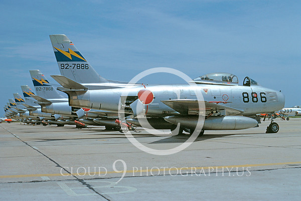 JASDF North American F-86 Sabre Airplane Pictures