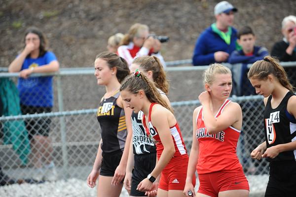 Girls' 1600 Meters - 2019 MHSAA LP D4 T&F