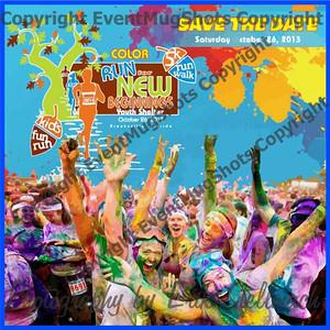 2013.10.26 Color Run for New Beginnings 5K