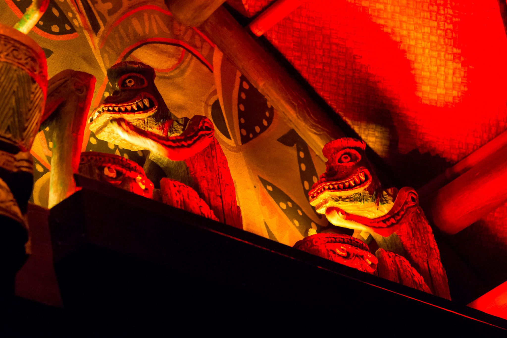 Tiki Statues - Walt Disney World Magic Kingdom