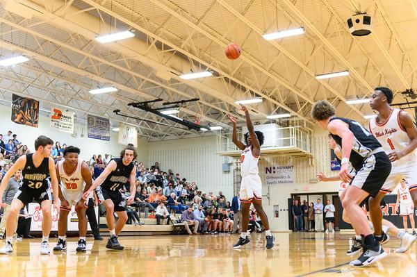 NDHS Basketball vs Ledford 2020