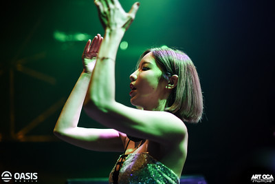2019.6.20 - Cyndi at Xylo, Oasis Manila