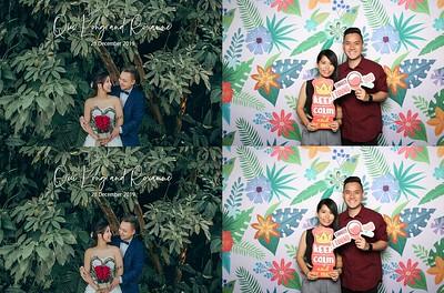 Qiulong & Roxanne 28 Dec 2019 Photobooth Album
