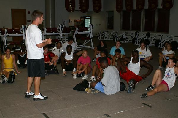 FSU Track and Field Camp 7-18-09