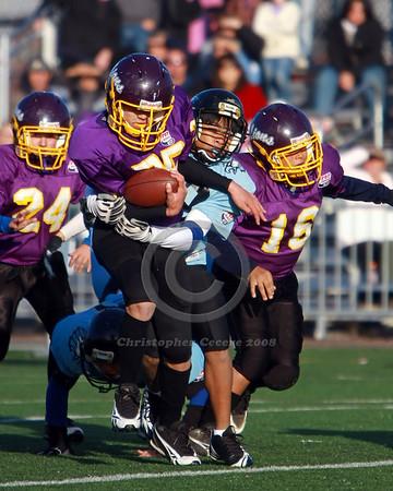 Jr. Midget v. Irondequoit Scream'n Eagles (WNY Championship) 11-2-08