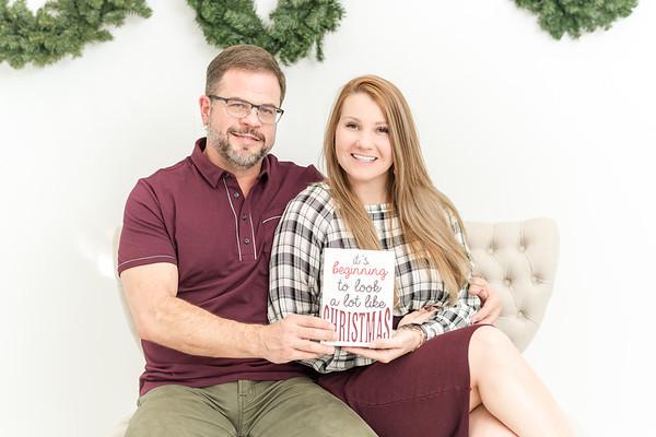 Lauren & Ken Christmas Studio