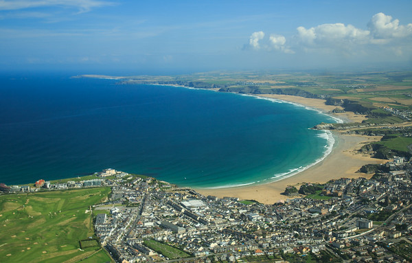 Newquay from Above