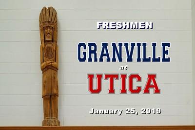 2019 FRESHMEN - Granville at Utica (01-25-19)