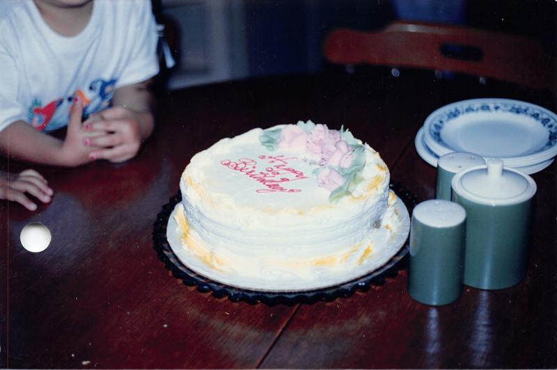 Grandpa's birthday, June 1986