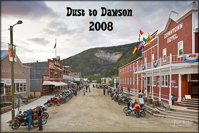 2008 Dust to Dawson Official Group Photos