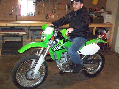 ST.N Pizza 2008 and Matt's KLX250