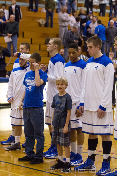 2012-12-01 Hillsdale College Men's Basketball vs. Lake Superior State
