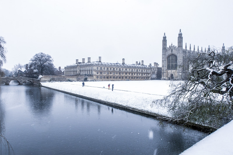 King's College Chapel and Clare College, Cambridge