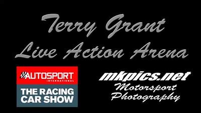 Terry Grants Car Jump , Autosport Show 2020