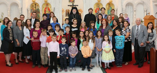 Three Hierarchs Greek School Blessing