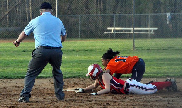 Albemarle softball beats Orange 2013