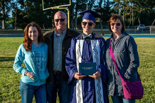 2018 06-16 Aaron Barneburg graduation