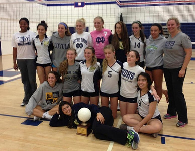 Girl's Volleyball 2012