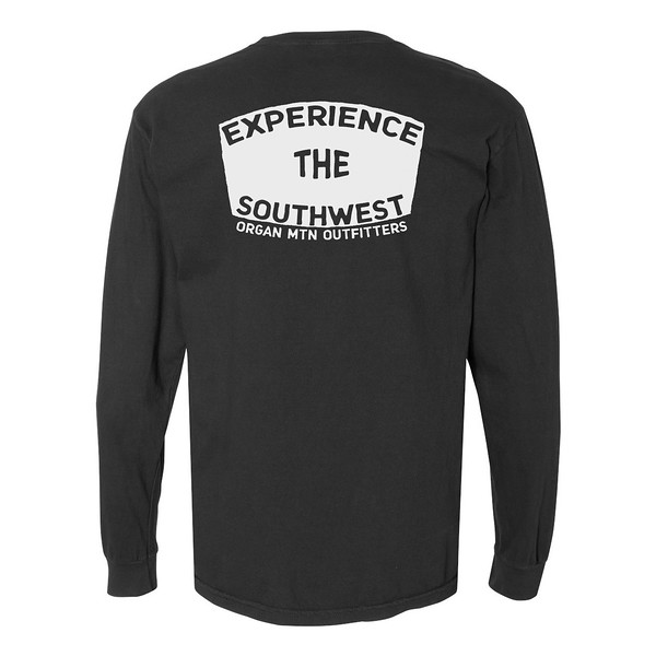 Organ Mountain Outfitters - Outdoor Apparel - Mens T-Shirt - EXSW Road Tee Long Sleeve - Black Back.jpg