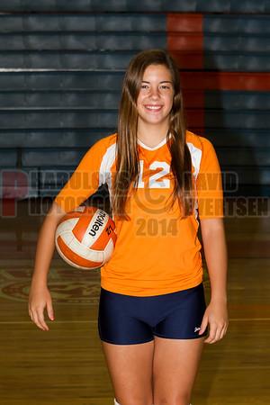 Girls JV Volleyball #12 - 2014