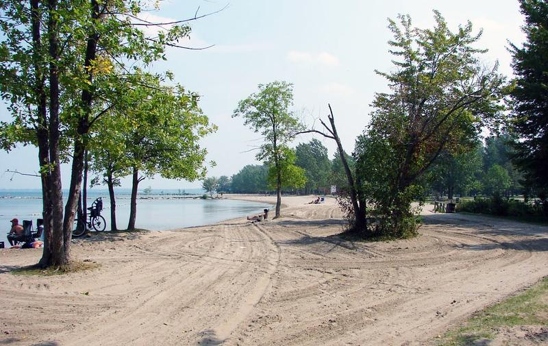Sibbald Point Provincial Park Beach