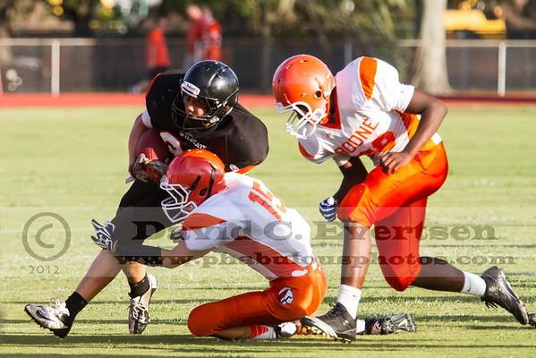Boone Freshman Football #15 - 2012