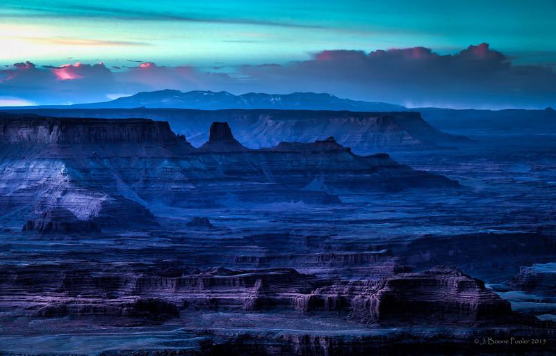 Morning Awakens Across the Canyon