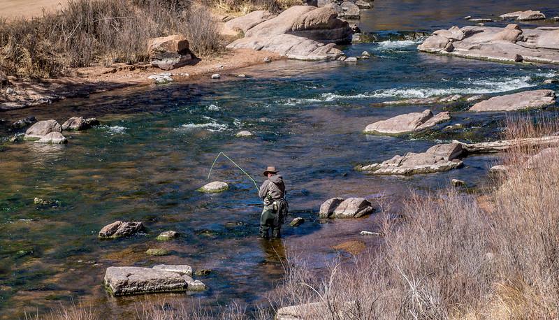 Fisherman, Elk Creek Colorado