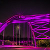 superball bridge light in purple