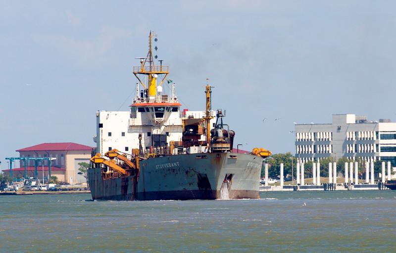 The 103,812 dead-weight ton, 1977 tanker Stuyvestant