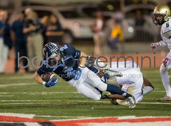 Crescenta Valley vs Muir Football 10-16-15