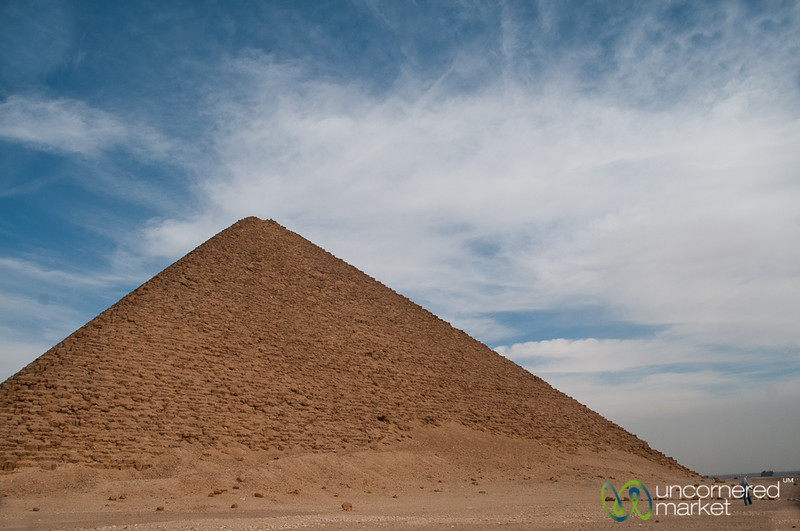 Red Pyramid in Egypt