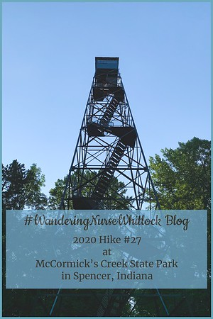 2020 Hike #27 on June 20th at McCormick's Creek State Park in Spencer Indiana (Trail 4)