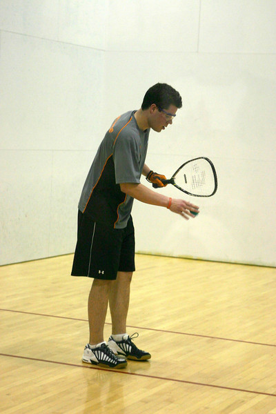 Team E-Force player Ryan Kofoid in his Men's Open 1st round match..