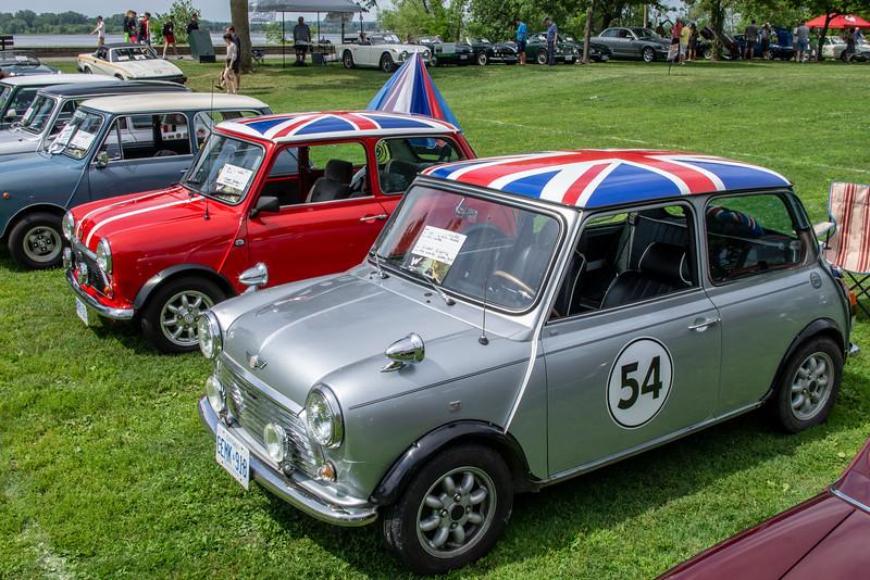 Austin Mini and 1991 Mini Rover Mini Cooper