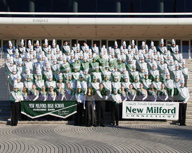 2008 NEW MILFORD HIGH SCHOOL MARCHING BAND, CITRIS PARADE, ORLANDO, FLORIDA