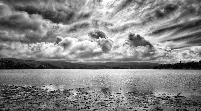 Low Tide, Stormy Skies