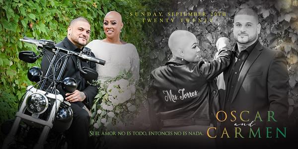 Carmen & Oscar Ceremony