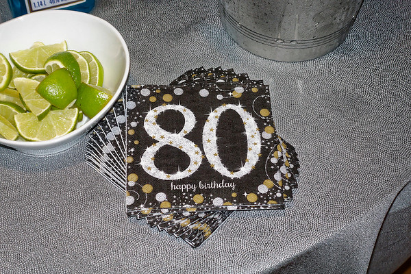 Fred's 80th