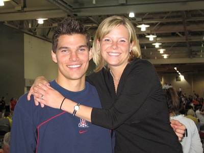 Drew and UofA volleyball