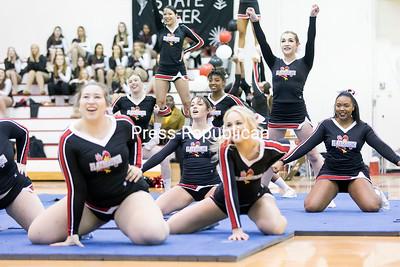 Plattsburgh State Cheerleading Showcase Fundraiser