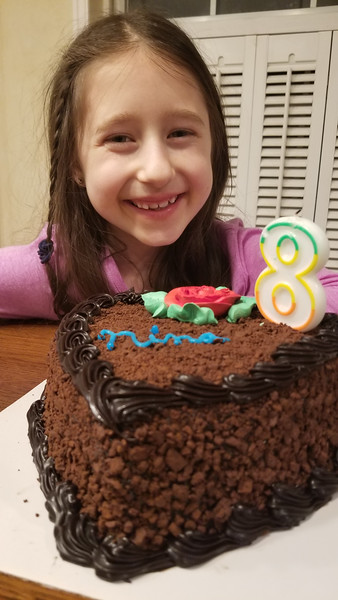 Ninas Birthday, Basketball, Swimming Winter 2019